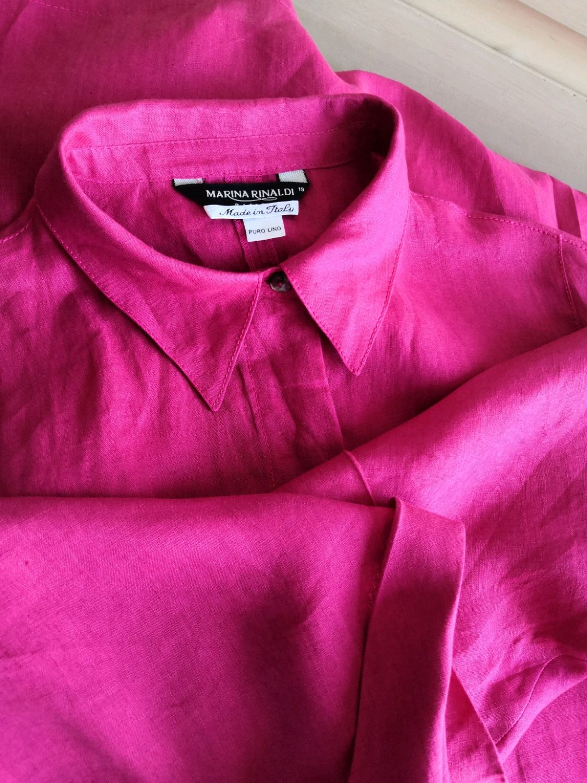 Винтаж: Marin Rinaldi ( Max Mara) блуза ,рубашка, платье рубашка. Винтаж, Одежда винтажная, Северодвинск,  Фото №1