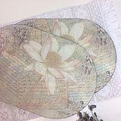"""Для дома и интерьера ручной работы. Ярмарка Мастеров - ручная работа Подставка для тарелок """"Лотос"""". Handmade."""