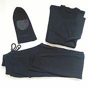 Одежда ручной работы. Ярмарка Мастеров - ручная работа Вязаный костюм т.моренго. Handmade.