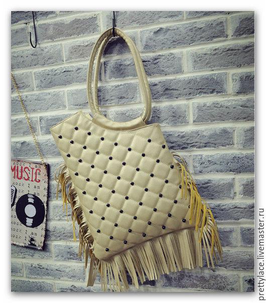 Женские сумки ручной работы. Ярмарка Мастеров - ручная работа. Купить Вместительная большая женская кожаная сумка. Handmade.