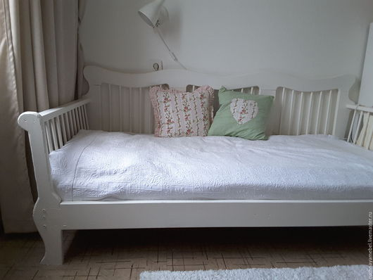 Мебель ручной работы. Ярмарка Мастеров - ручная работа. Купить Кровать 90 х 180. Handmade. Белый, кроватка