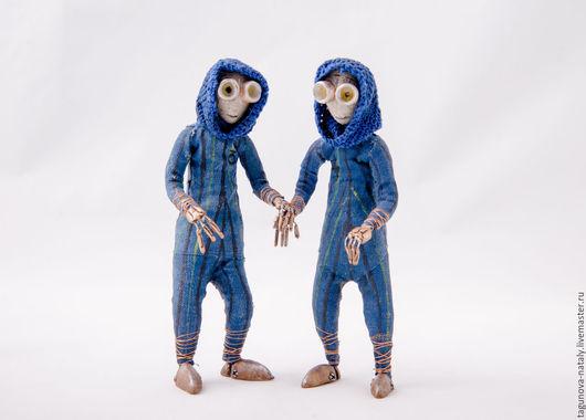 Куклы и игрушки ручной работы. Ярмарка Мастеров - ручная работа. Купить Кукла из мультфильма Девять (Двойняшки №3 и №4). Handmade.