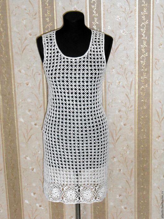 Платья ручной работы. Ярмарка Мастеров - ручная работа. Купить Платье Ажурное. Handmade. Платье, белое платье, платье крючком