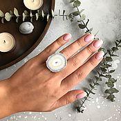 Украшения handmade. Livemaster - original item ring with agate drosou. Handmade.