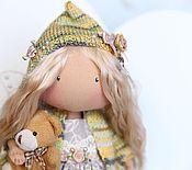 Куклы и игрушки ручной работы. Ярмарка Мастеров - ручная работа текстильная кукла Мотылёк. Handmade.