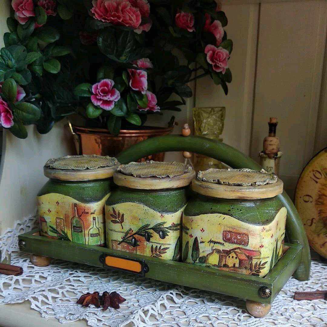 "Комплект для кухни ""Оливковая роща"", Банки, Москва,  Фото №1"
