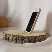 Для дома и интерьера ручной работы. Ярмарка Мастеров - ручная работа Подставки для телефона. Handmade.