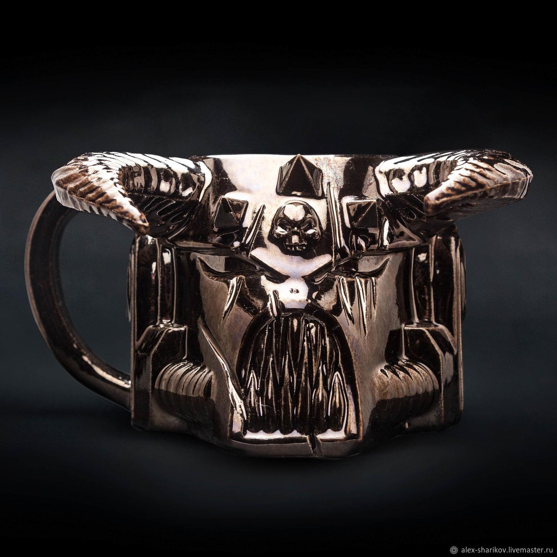 Кружка Вархаммер ХАОС (Warhammer 40000 Chaos ceramic mug), Кружки и чашки, Санкт-Петербург,  Фото №1