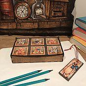 """Для дома и интерьера ручной работы. Ярмарка Мастеров - ручная работа Лотки и коробочки """"Любимые игрушки"""". Handmade."""