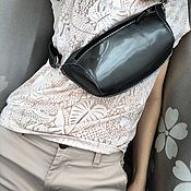 Сумки и аксессуары handmade. Livemaster - original item Waist bag, banana. Handmade.