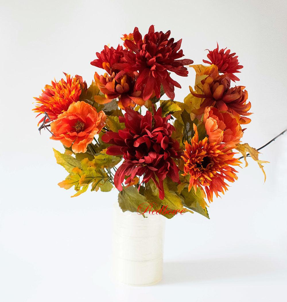 Купить осенний букет цветов москва