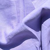 Материалы для творчества ручной работы. Ярмарка Мастеров - ручная работа Штапель со льном лавандовый. Handmade.