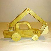 Куклы и игрушки handmade. Livemaster - original item Excavator. Handmade.