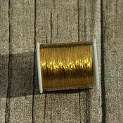 Материалы для творчества ручной работы. Ярмарка Мастеров - ручная работа Металлизированные нитки люрекс, 100 метров. Handmade.