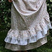 """Одежда ручной работы. Ярмарка Мастеров - ручная работа Подъюбник """"Луг"""" Нижняя юбка Цветы. Handmade."""