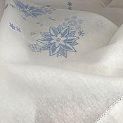 Для дома и интерьера handmade. Livemaster - original item Set linen embroidered