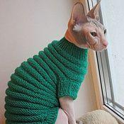 Для домашних животных, handmade. Livemaster - original item Sweater for animals. Handmade.
