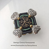Украшения handmade. Livemaster - original item brooch-cross little joy.. Handmade.