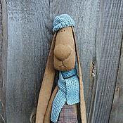 Куклы и игрушки ручной работы. Ярмарка Мастеров - ручная работа Кофейно-коричный заяц Фил. Handmade.