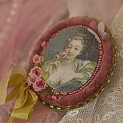 "Украшения handmade. Livemaster - original item brooch ""R o С o С o"". Handmade."