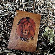 """Блокноты ручной работы. Ярмарка Мастеров - ручная работа Блокнот ручной работы """"лев"""". Handmade."""
