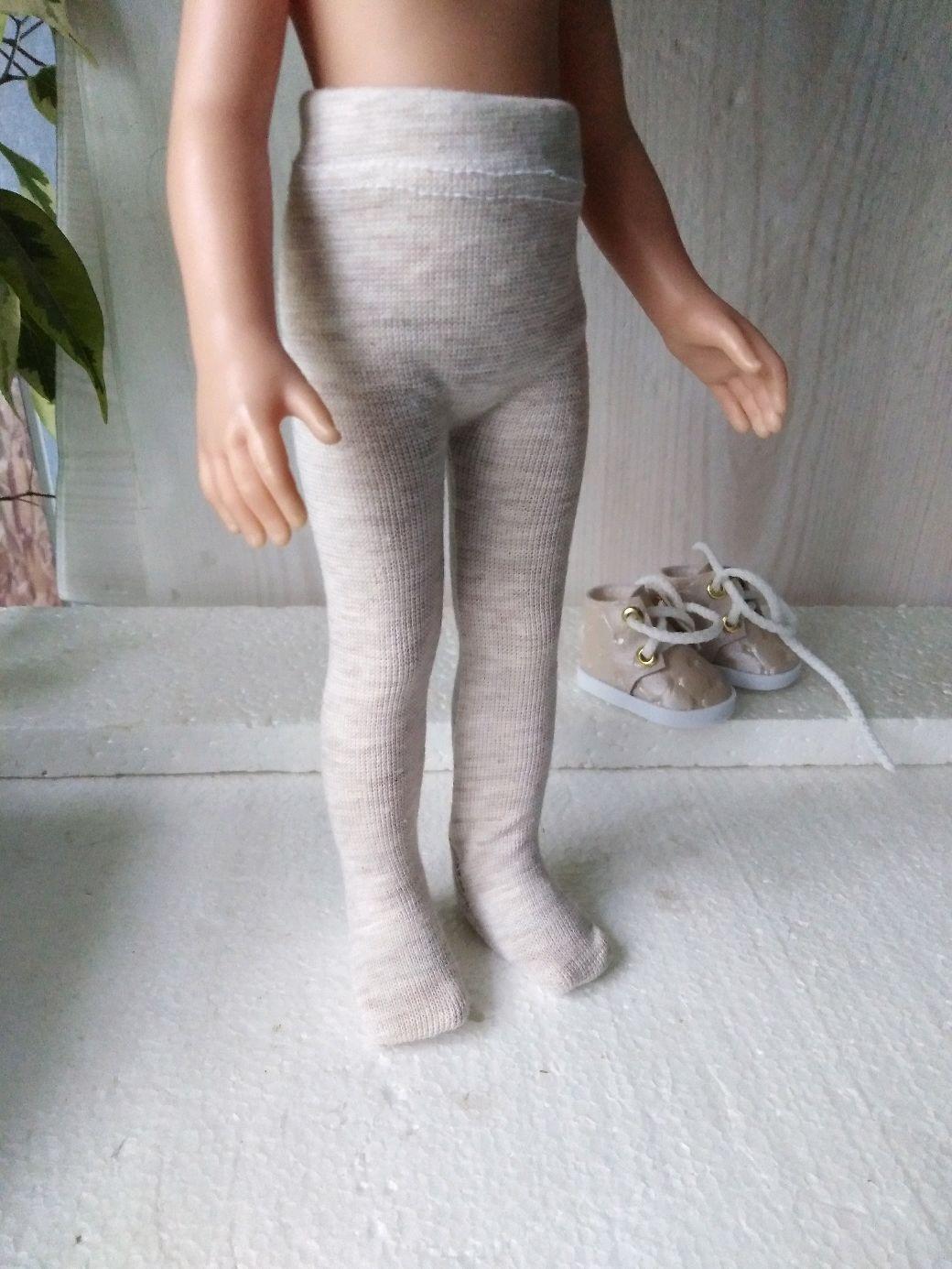 Плотные колготки телесного цвета для Паолочки, Одежда для кукол, Челябинск,  Фото №1