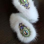 Украшения handmade. Livemaster - original item Bracelet snake mink, twisted bracelet, a fur bracelet. Handmade.