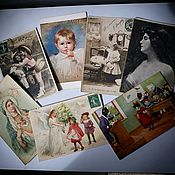 Винтаж handmade. Livemaster - original item Antique postcard . France. Handmade.