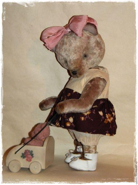 Мишки Тедди ручной работы. Ярмарка Мастеров - ручная работа. Купить Маленькая няня. Handmade. Комбинированный, мишки
