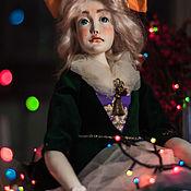 Большая шарнирная кукла Мальвина