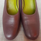 Camper женские туфли, р. 39, каблук, сирень-перламутр