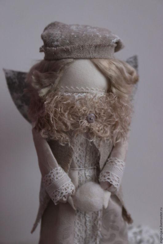 """Народные куклы ручной работы. Ярмарка Мастеров - ручная работа. Купить """"Ангел первого снега"""" кукла-образ. Handmade. Серый"""