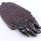 Сумки и аксессуары handmade. Livemaster - original item The housekeeper crocodile leather with claw, length 19 cmIMA0144K6. Handmade.