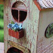 """Для дома и интерьера ручной работы. Ярмарка Мастеров - ручная работа Чайный домик-""""В старом городе"""". Handmade."""