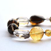 Украшения handmade. Livemaster - original item Bracelet of Topaz and citrine. Handmade.