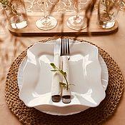 Салфетки ручной работы. Ярмарка Мастеров - ручная работа Салфетки для сервировки стола. Handmade.