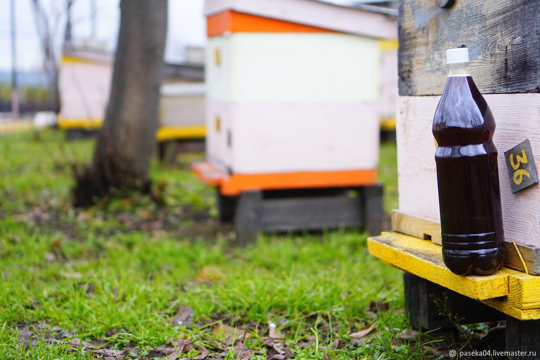 Мёд с цветочного разнотравья с гречей / 1л. - 1.5 кг. мёда / + Подарки, Мед, Горно-Алтайск,  Фото №1
