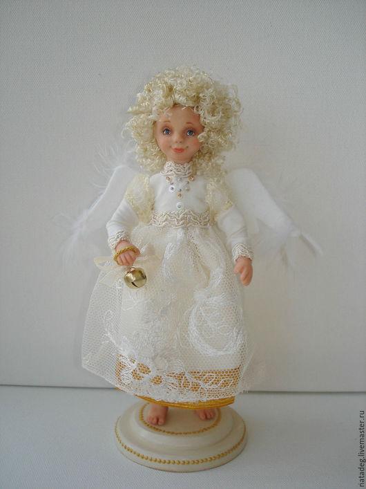 Коллекционные куклы ручной работы. Ярмарка Мастеров - ручная работа. Купить Солнечный ангел. Handmade. Ангел, крылья, полимерная глина