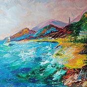 Картины и панно handmade. Livemaster - original item The picture the sea