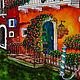 Город ручной работы. Заказать Венеция. Татьяна витражные картины (Kem-Tatiana). Ярмарка Мастеров. Домики, витражная картина