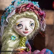 """Куклы и игрушки ручной работы. Ярмарка Мастеров - ручная работа Миниатюрная коллекционная кукла """"Ветер, который живет в саду"""". Handmade."""