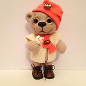 Куклы и игрушки handmade. Livemaster - original item Bear Arish. Handmade.