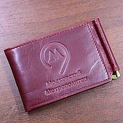 Канцелярские товары handmade. Livemaster - original item ID card cover money clip Moscow metro. Handmade.