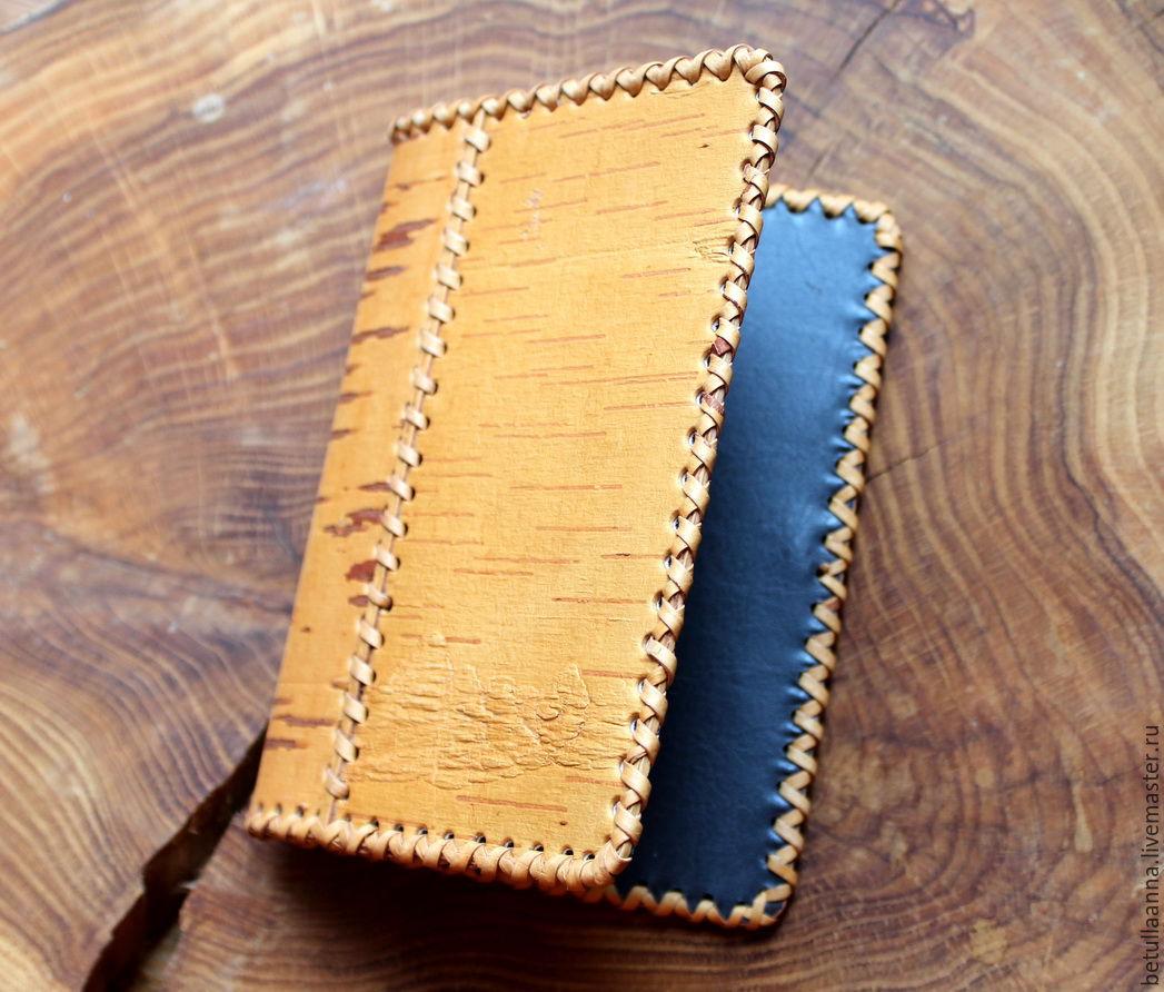 Обложка для паспорта из бересты своими руками 34