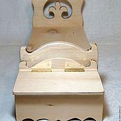 Куклы и игрушки ручной работы. Ярмарка Мастеров - ручная работа Прикроватная тумба для белья, комод для кукол. Handmade.