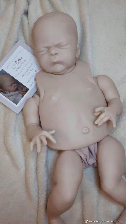 Куклы и игрушки ручной работы. Ярмарка Мастеров - ручная работа. Купить Nellie by Cassie Ann Brace. Handmade. Бежевый