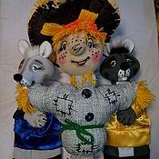 Куклы и игрушки ручной работы. Ярмарка Мастеров - ручная работа Чучелко-пугало. Кукла для спектакля на гапите.. Handmade.