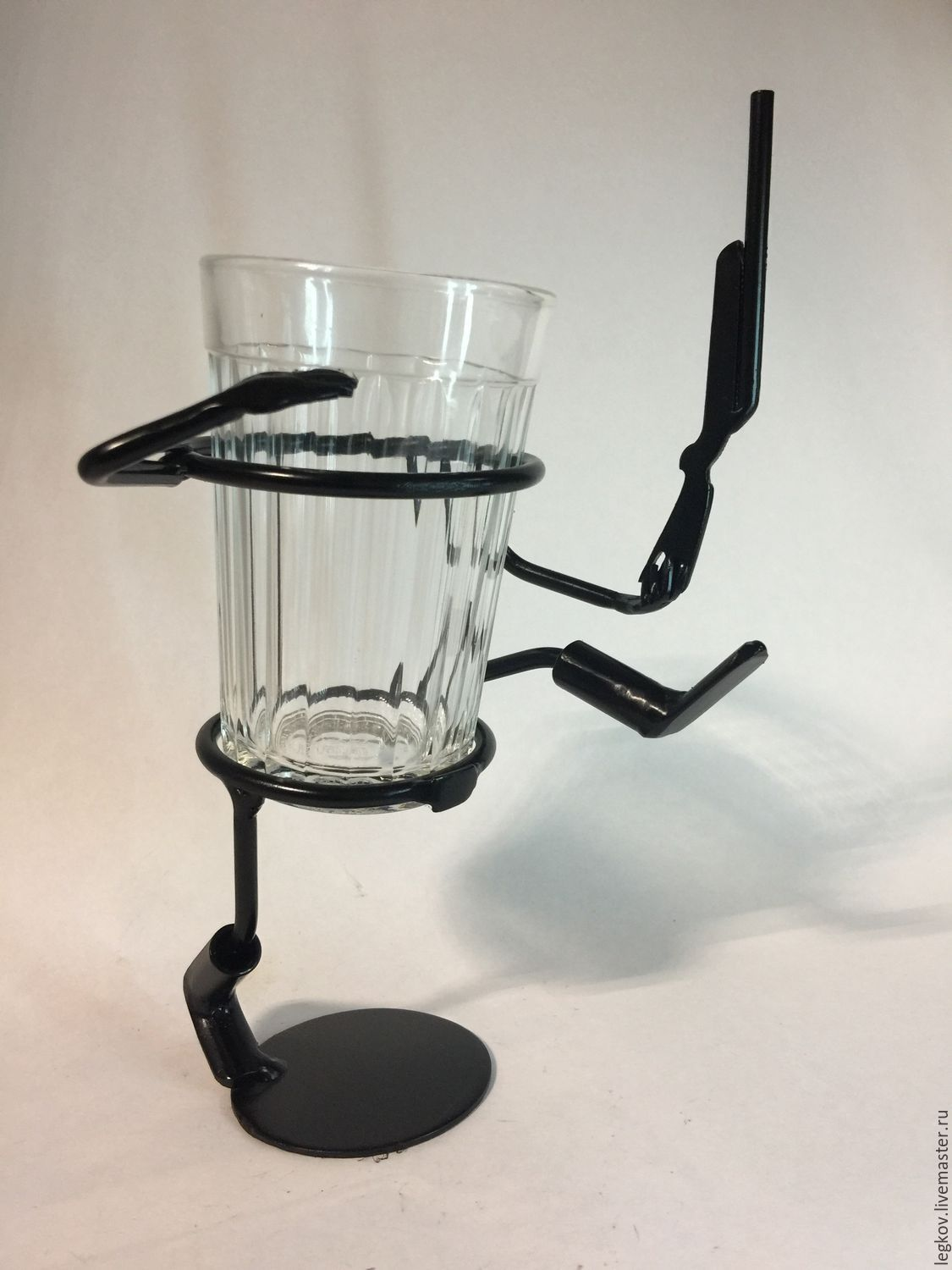 The holder 'One - two', Water Glasses, Kolchugino,  Фото №1