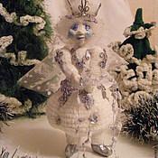 """Куклы и игрушки ручной работы. Ярмарка Мастеров - ручная работа Авторская куколка """"Вьюга -Вьюженька"""". Handmade."""