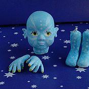 Материалы для творчества handmade. Livemaster - original item Set to create a doll. Handmade.